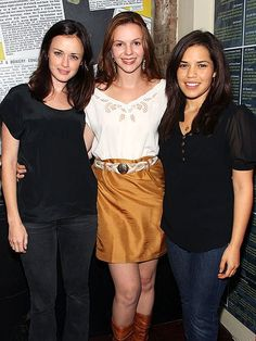 From Traveling Pants to babies-on-the-way! Alexis Bledel, Amber Tamblyn, America Ferrera and Blake Lively have stayed close through the years