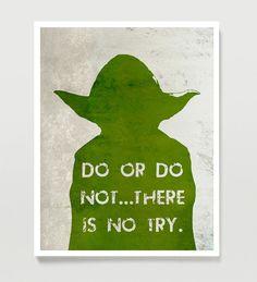Star Wars Poster YODA