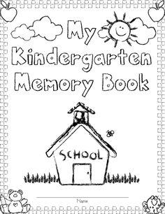 graduation kindergsrtin booklet