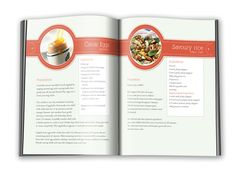 French Menu Cookbook by Winfield Foster, via Behance