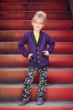 Blank Slate Patterns: Cool Cardigan