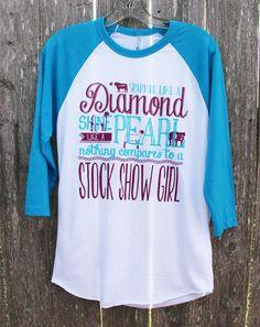 Sparkle Like A Diamond Shirt - Stock Show Sweethearts