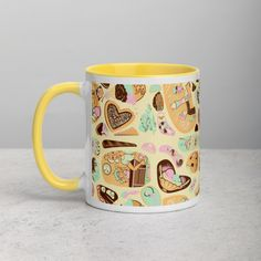 Next Store, Affogato, Mug Rack, Midnight Snacks, Spice Things Up, Things To Sell, Ceramic Mugs, Geek Stuff, Doodles