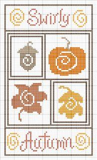 Fall Free Stitchery patterns