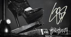 Lzzy's stiletto boot on her Jerry Cantrell wah pedal. Wah Pedal, Metal Health, Jerry Cantrell, Lzzy Hale, Women Of Rock, Rocker Girl, Halestorm, Favorite Pastime, Metal Girl