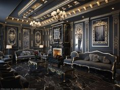 Enhance Your Senses With Luxury Home Decor Gothic Interior, Luxury Homes Interior, Classic Interior, Luxury Home Decor, Home Interior Design, Interior Architecture, Interior Decorating, Fashion Architecture, Palace Interior