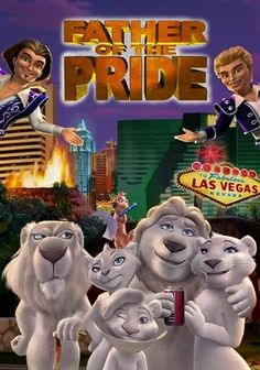 Father of the Pride (2004) Larry the Lion voiced by John Goodman.
