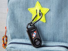 Designed to mimic a key fob, this small keyring alarm is a powerful call for help. Pull the top off for a noise, as loud as a jet taking off. Wireless Home Security Systems, Security Alarm, Security Surveillance, Surveillance System, Security Camera, Personal Security, Best Home Security, Security Tips, House Security