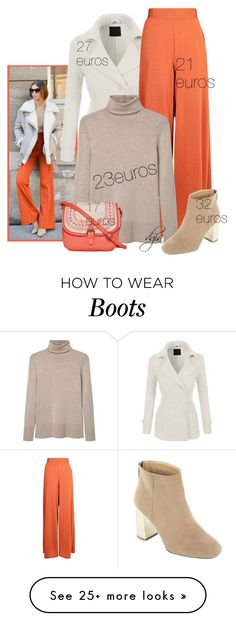 """""""Fall for less"""" by dgia on Polyvore featuring Boohoo, MANGO and T-shirt & Jeans"""