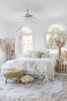 Helena White and Peach Turkish Style Distressed Rug - Miss Amara (AU) Home Decor Bedroom, Bedroom Ideas, Bedroom Signs, Bedroom Modern, Bedroom Inspo, Bedroom Romantic, Home Decor Quotes, Aesthetic Bedroom, New Room