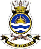 HMAS Betano | Royal Australian Navy Royal Australian Navy, Badge, Christmas Ornaments, Holiday Decor, Xmas Ornaments, Button Badge, Christmas Jewelry, Christmas Ornament, Christmas Baubles