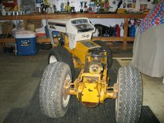 Do It Yourself Landscape Design – Where To Begin Old Tractors, Lawn Tractors, Garden Tractor Pulling, Truck And Tractor Pull, Metal Projects, Welding Projects, Homemade Tractor, Agriculture Machine, Riding Mower