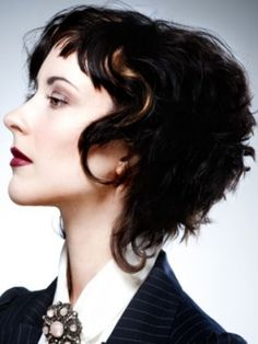 If my hair were curly I'd do this in a new york minute!