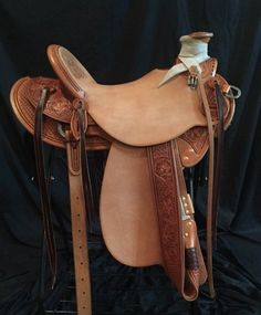 15 1/2 inch Justin Thorson Half Breed Wade Saddle for Sale - For more information click on the image or see ad # 72209 on www.RanchWorldAds.com