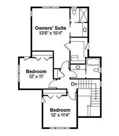 Craftsman Style House Plan - 3 Beds 3 Baths 2026 Sq/Ft Plan #124-844 Floor Plan - Upper Floor Plan - Houseplans.com