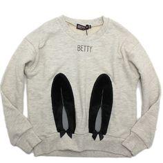 Betty(ベティ):ラビットファースウェット オートミール の通販【ブランド子供服のミリバール】