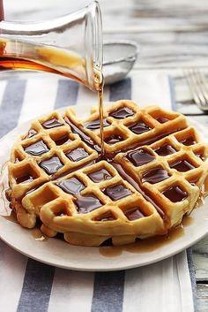 Waffles crispy!