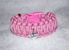 Mother Bracelet Pink Bracelet Mother Heart Heart Bracelet