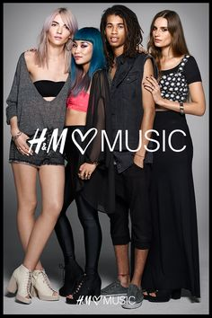 Check out our new Divided Collection featuring Éclair Fifi, Cate Underwood, Mademoiselle Yulia and Dream Koala #HMLovesMusic #HMDivided