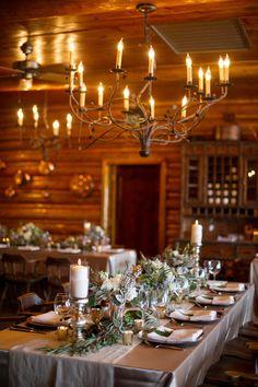 Snowy Colorado Ranch Wedding  on WeddingWire