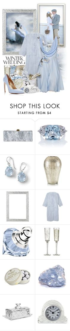 """""""Winter Wedding"""" by jleigh329 ❤ liked on Polyvore featuring Ippolita, Olivia Riegel, Dolce&Gabbana, Chopard, CB2, Charbonnel et Walker and Godinger"""