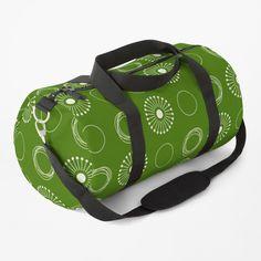 White Dandelion, Work Travel, Baggage, Gym Bag, Shoulder Strap, Backpacks, Classic, Pattern, Bags