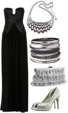 Outfits - What To Wear - Black Tie Wedding
