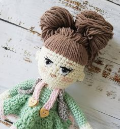 🧚🌺PinkMint🌺🧚 #amigurumis #amigurumitoys #amigurumi #toys #crochettime #lovecrochet #knitlife #bhooked #crocheting #crochetaddict… Amigurumi Toys, Love Crochet, Crocheting, Teddy Bear, Knitting, How To Make, Handmade, Instagram, Crochet