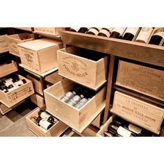 Modulorack - Wine Cellar storage system for your wine cases