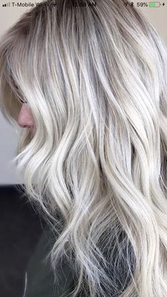 17 Hottest Silver Purple Hair Colors of 2019 - Style My Hairs Silver Purple Hair, Brown Ombre Hair, Ash Blonde Hair, Blonde Hair Fall 2018, Purple Hair Highlights, Hair Color And Cut, Fall Hair, Hair Beauty, Beauty Tips