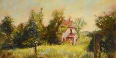 Jak maluję krajobraz suchymi pastelami – Monika Wiśniewska Amaviael
