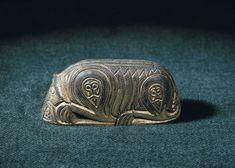 Viking age / Finnish artifact found in Kirmukarmu, Vesilahti Finland Renaissance Jewelry, Medieval Jewelry, Viking Jewelry, Ancient Jewelry, Viking Symbols, Viking Runes, Mayan Symbols, Egyptian Symbols, Ancient Symbols