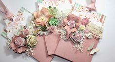 Lots of options! Creative Gift Wrapping, Creative Gifts, Journal Cards, Junk Journal, Shabby Chic Cards, Paper Crafts, Diy Crafts, Handmade Tags, Pocket Cards