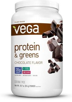 Pin for Later: 8 Vegan Protein Powders That Are Available in the UK Vega Protein and Greens Vega Protein and Greens (£29)