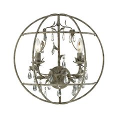 ELK Lighting 18210/2 Bridget Collection Marble Gray Finish
