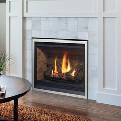 Gas fireplace inserts are designed to be placed inside an existing masonry fireplace and uses the existing fireplace and chimney to hold the unit and support venting. A gas fireplace insert transforms an old wood fireplace into a high-efficiency gas heater that uses either natural gas or propane and many are eligible for local government rebates. Home Fireplace, Fireplace Remodel, Gas Insert, Fireplace Inserts, Enjoy Your Life, Old Wood, Regency, Natural, Design