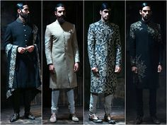 Drool over these #SabyasachiMukherjee men collections at #AICW2015