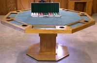 Poker table plans and instructions