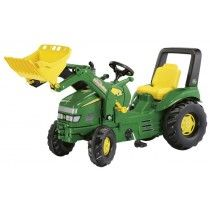 The Rolly X-Trac is the largest pedal tractor available in our range. Featuring adjustable seat, rollbar, opening bonnet, functional front loader, John Deere decals and a rear hitch for attaching Rolly trailers and accessories. Childrens Garden Toys, Kids Garden Toys, Lego Ninjago, John Deere Decals, John Deere Kids, Pedal Tractor, Kids Ride On Toys, Farm Toys, The Jacksons