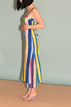 Mara Hoffman - Rainbow Stripe Sheath Midi | BONA DRAG