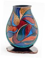 Mini gourd vase with geometric design: This class is back by popular demand! Join us Aug. 4th, 2012. Just $34.95