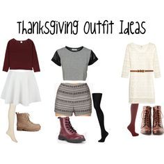 """""""Thanksgiving Outfit ideas"""" Polyvore"""