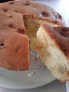 炊飯器で★卵白消費 りんごケーキ