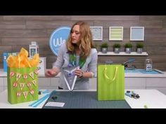 Window Goodie Bags by Aly Dosdall for We R Memory Keepers - YouTube