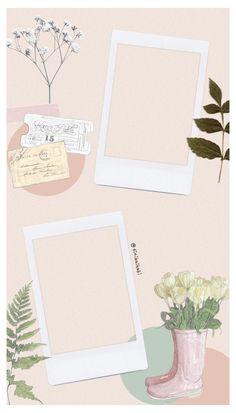 Framed Wallpaper, Galaxy Wallpaper, Polaroid Picture Frame, Polaroid Frame Png, Polaroid Template, Birthday Post Instagram, To Do Planner, Photo Collage Template, Picture Templates
