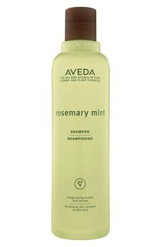 Awaken your senses with Rosemary Mint shampoo