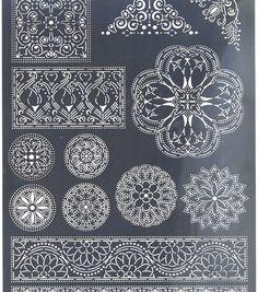 Multi Grid #48 – Floral Ornaments 2(31478)