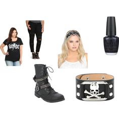 AC/DC by jessica-parks-1 on Polyvore featuring OPI