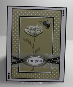 CCC155 ~ Bloomin' Beautiful River Rock and Basic Black... by lbenden - Cards and Paper Crafts at Splitcoaststampers
