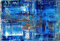 Abstract Oil Painting - RM 803 - 16 (Malerei),  130x90x1,8 cm von Rico Mocellin Die Ölgemälde haben eine abstrakte Stil, viele Farben werden verwendet, um das Ergebnis sind bunte Kunstwerke mit unterschiedlichen Texturen.  Rico Mocellin's Kunstwerke sind das Ergebnis seiner Verrücktheit, in Farben umgewandelt.